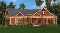 Craftsman Style Floor Plans 24-221