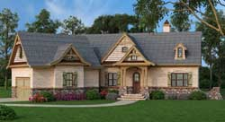 Country Style Floor Plans 24-223