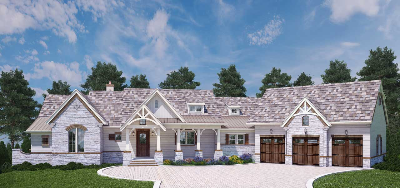 Mountain-or-rustic Style House Plans Plan: 24-231