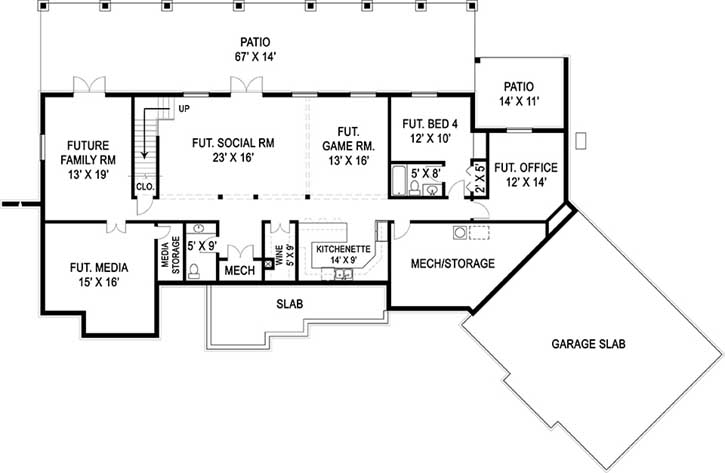 Lower Floor Plan:24-231