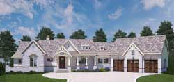 Mountain-or-Rustic Style House Plans 24-231