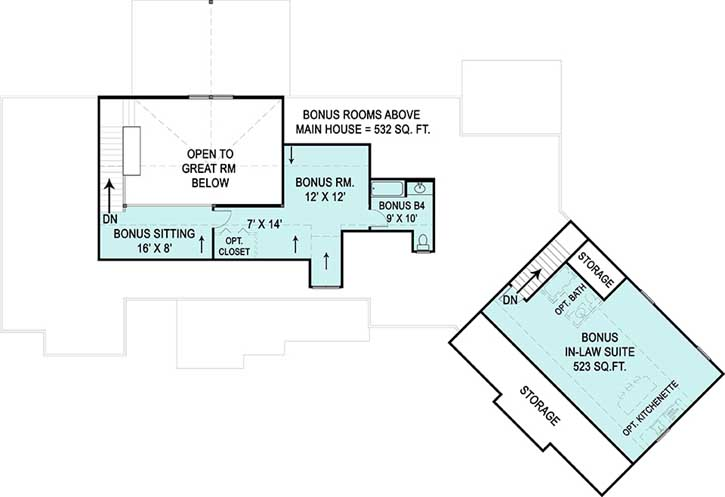 Upper/Second Floor Plan:24-231