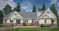Mountain-or-Rustic Style House Plans Plan: 24-233