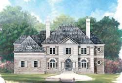 European Style House Plans Plan: 24-237