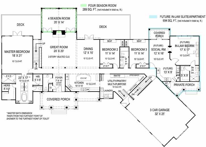 Main Floor Plan: 24-239