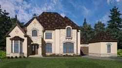 European Style House Plans Plan: 24-241