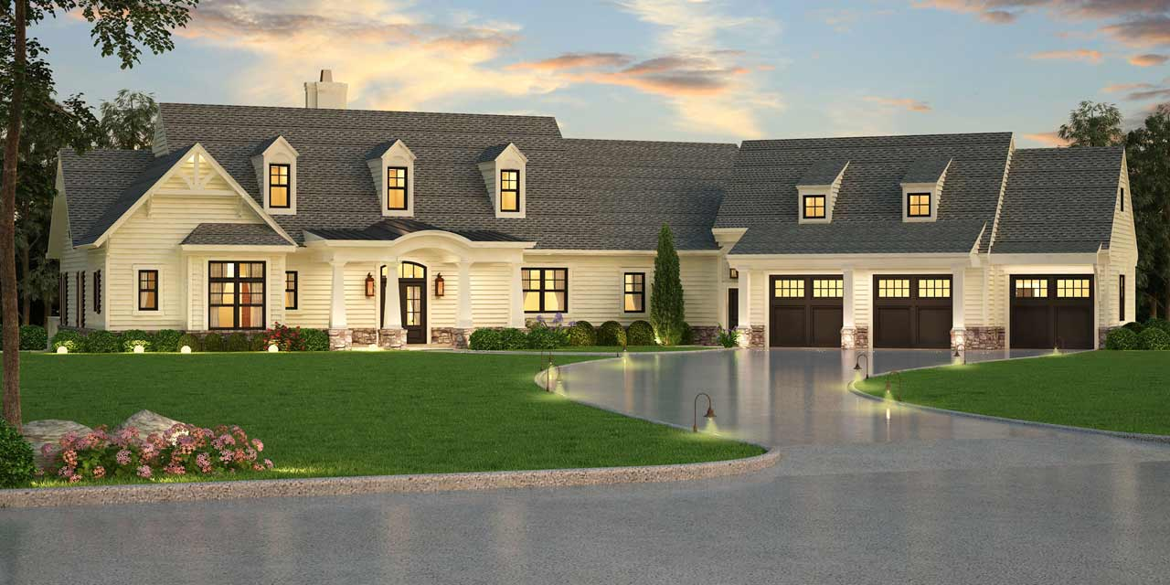 Country Style House Plans Plan: 24-242