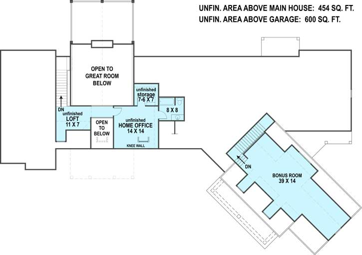 Upper/Second Floor Plan: 24-242