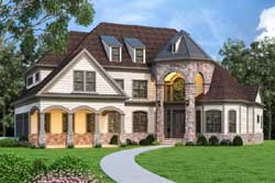 European Style Floor Plans Plan: 24-246