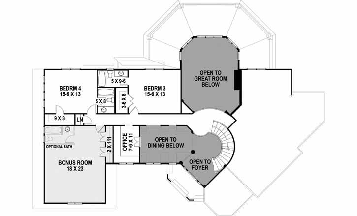 Upper/Second Floor Plan: 24-246