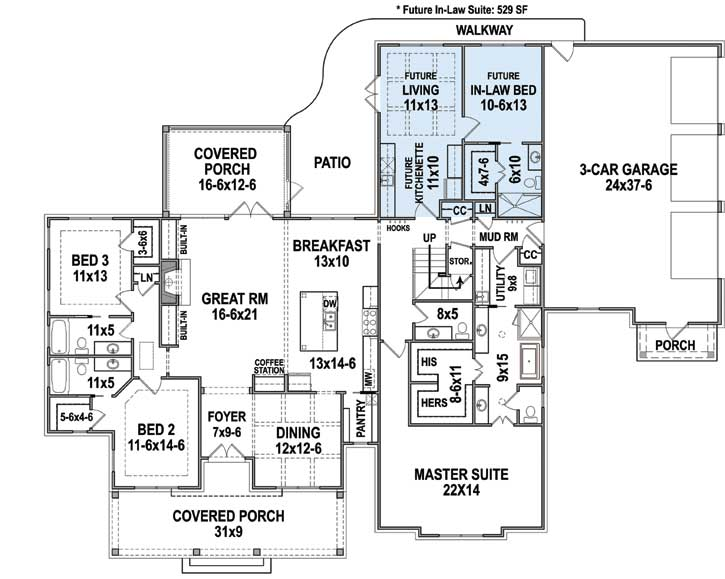 Main Floor Plan: 24-247