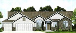 Traditional Style Home Design Plan: 25-142