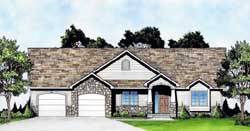 Traditional Style House Plans Plan: 25-168