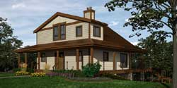 Country Style House Plans Plan: 26-144
