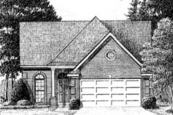 Traditional Style House Plans Plan: 27-104