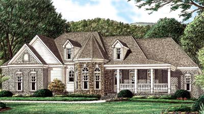 Country Style House Plans Plan: 27-145