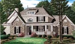 Southern Style Floor Plans 27-159