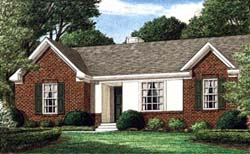 Traditional Style House Plans Plan: 27-170