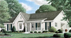 Country Style Floor Plans Plan: 27-171