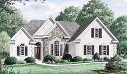 Traditional Style House Plans Plan: 27-174