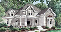 Victorian Style House Plans Plan: 27-177