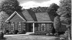 Country Style Floor Plans Plan: 27-243