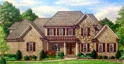 Southern Style Floor Plans Plan: 27-249