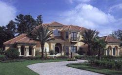 Mediterranean Style Floor Plans Plan: 28-101