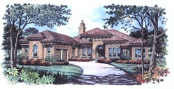 Florida Style House Plans Plan: 28-102