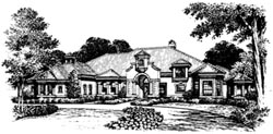 Italian Style Floor Plans Plan: 28-117