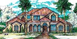 Florida Style Floor Plans Plan: 28-142