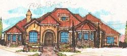 Mediterranean Style House Plans 28-167