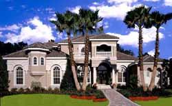 Florida Style Floor Plans Plan: 28-179