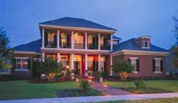 Plantation Style Home Design Plan: 28-182