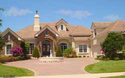 Tuscan Style House Plans 28-187
