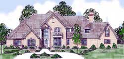 English-Country Style Floor Plans Plan: 3-103