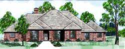 Traditional Style Floor Plans Plan: 3-107