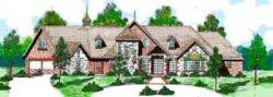 European Style Floor Plans Plan: 3-108