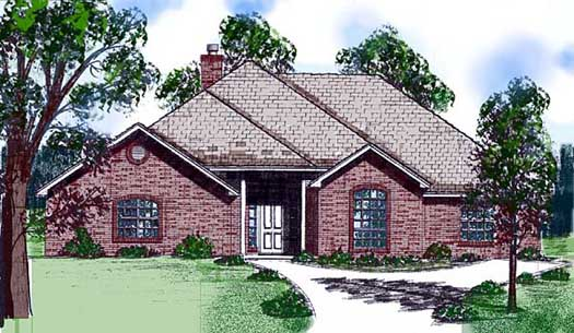 Traditional Style Floor Plans Plan: 3-110