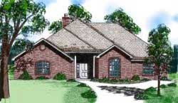 Traditional Style House Plans Plan: 3-110