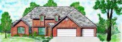 Traditional Style House Plans Plan: 3-113
