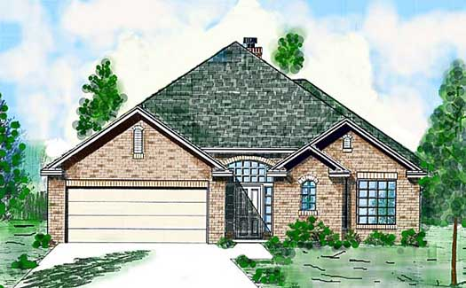 European Style Floor Plans Plan: 3-116