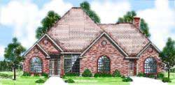 European Style Floor Plans Plan: 3-118