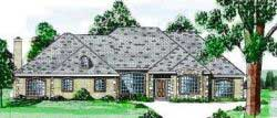 Traditional Style Floor Plans Plan: 3-119