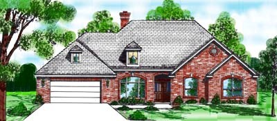 Traditional Style House Plans 3-120