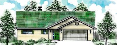 Traditional Style Floor Plans Plan: 3-121
