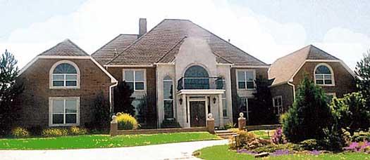 European Style House Plans Plan: 3-124