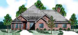 Traditional Style House Plans Plan: 3-125