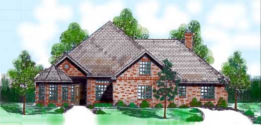 Traditional Style Floor Plans Plan: 3-126