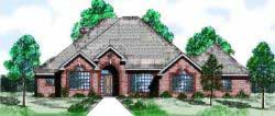 Traditional Style House Plans Plan: 3-127